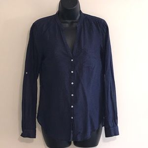 Holding Horses Polka Dot Button Front Size 4